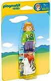 Playmobil 1.2.3. - 6975 - Femme avec chat