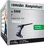 Rameder Komplettsatz, Dachträger SquareBar für BMW 7 (116003-00549-2)
