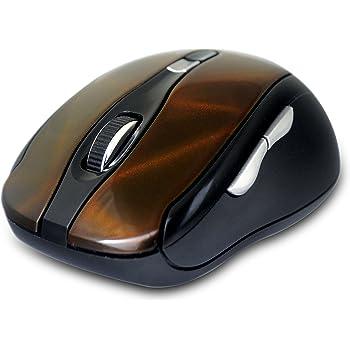Amkette Dynamo 7D Multi-Functional Wireless Optical Gaming Mouse (Orange-Black)