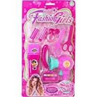 Parteet Makeup Beauty Set with Hair Dresser Toy for Girls(1Pc)