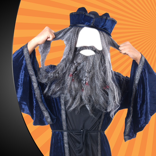 Lustiger Foto-Editor (Kostüme Unglaubliche Halloween)