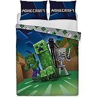 Minecraft Parure de lit «Creeps» Double Face