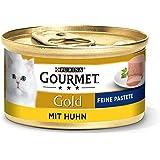 Purina Gourmet 12176062 Mokra Karma z Kurczakiem dla Kotów, 12 x 85 g