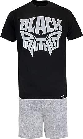 MARVEL Black Panther Mens Pyjamas