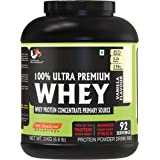 Advance MuscleMass Whey Protein Concentrate With Enzyme Blend| 24.7 g protein | Lab tested | Raw Whey from USA | Vanilla Flav