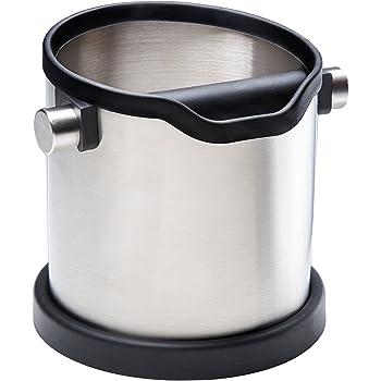 Abschlagbehälter für Espresso-Siebträger