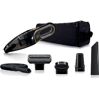 Philips FC6149/01 Autostaubsauger (Akku Handstaubsauger, beutellos, 12V NiMH,  mit Zubehör Kit, schwarz