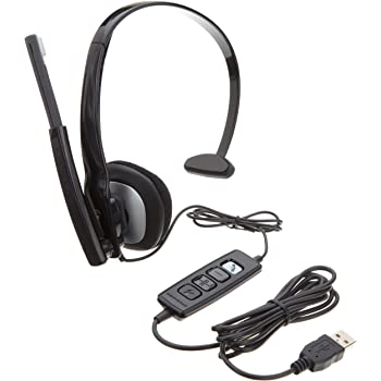 Plantronics 80298-02 Blackwire C210 MOC Monoraul USB Corded Headset