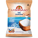 Aashirvaad Salt Proactive, 1kg Pack, Sodium - Reduced Diet for Blood Pressure Management and Active Life