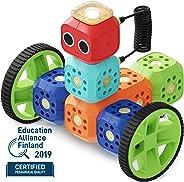 Robo Wunderkind – Set robotique modulable- Education Kit – 8 Blocs et 15 pièces – Jouet STEM programmable – 2 Applications Mo