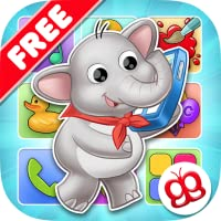 Buzz me! Spieltelefon gratis - Alle Aktivitäten für Kinder in einem Spiel