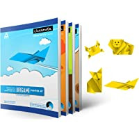 Classmate Origami Notebooks - Unruled, 172 Pages, 240 mm x 180 mm - Pack Of 4 (02001284AZBL)