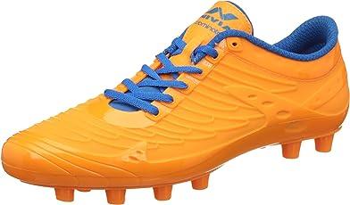 Nivia Dominator 1158FO07 Football Studs, UK 7 (Orange)