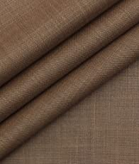Fashion Flair Copper Self Design Terry Rayon Premium Trouser Fabric (Unstitched - 1.25 Mtr)