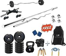 Protoner 50 kg Home Gym Set with Kettle Bell