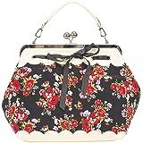 Küstenluder Damen Tasche Dalene Blumen Rosen Handtasche