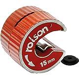 Rolson 22406 koperen pijpsnijder, 15 mm