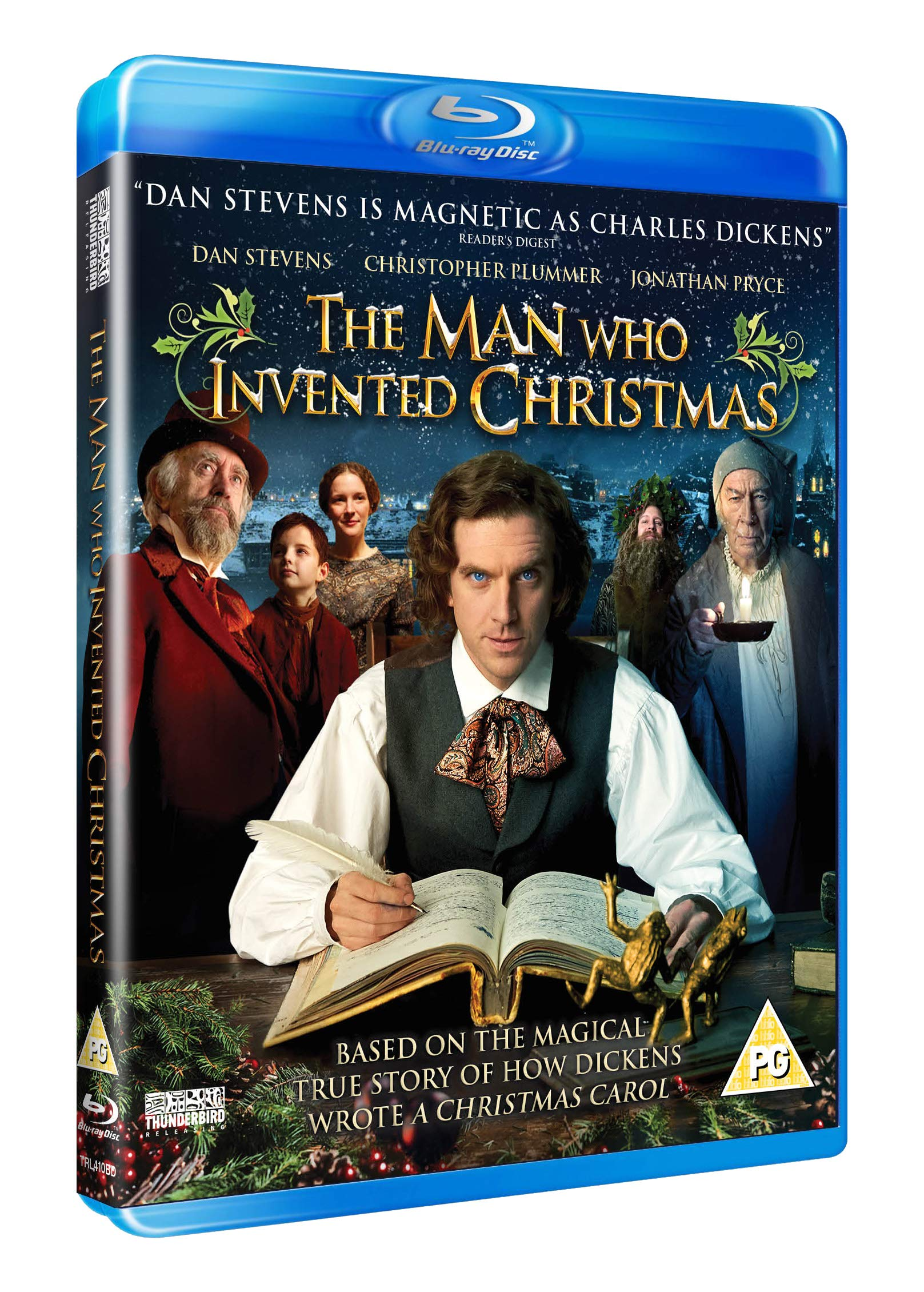 The Man Who Invented Christmas 2017.The Man Who Invented Christmas Blu Ray 2017