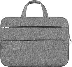Generic Protective Ultrabook Notebook/Laptop Carrying Sleeve Case Handbag (Light Grey, 15.6-inch, 692322)