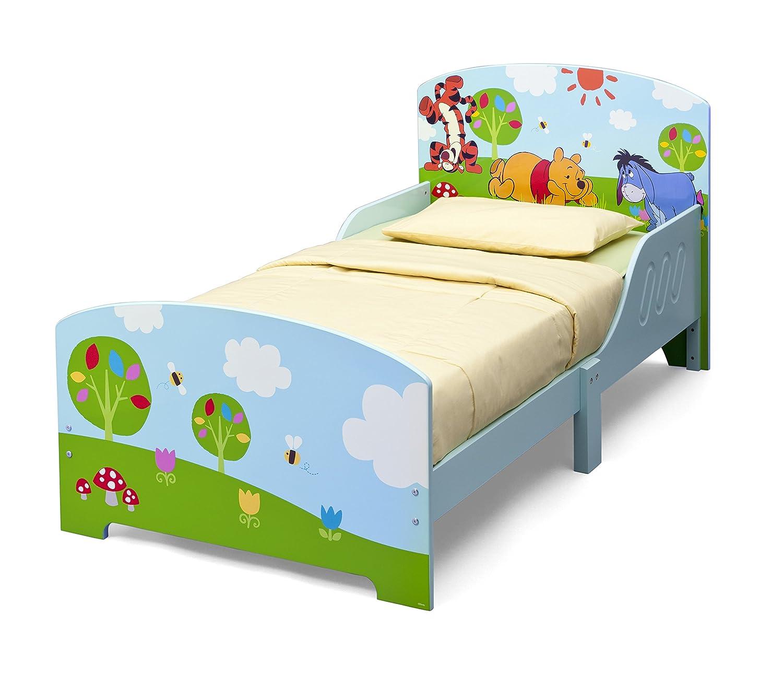 Disney Winnie the Pooh Toddler Bed (Blue): Amazon.co.uk: Kitchen ...