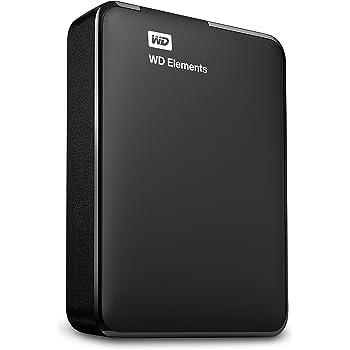 WD Elements - Disco duro externo portátil de 1.5 TB (USB 3.0), color negro