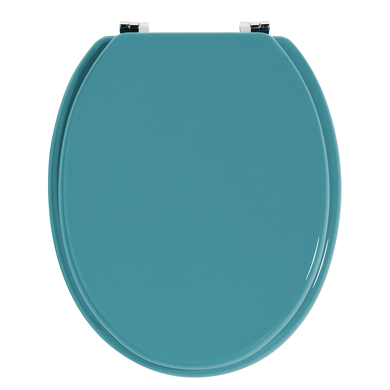 coloured soft close toilet seat.  Premier Housewares Toilet Seat Purple Amazon co uk Kitchen Home