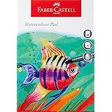 Faber-Castell WD791655 Watercolour papper, A4, Flerfärgad