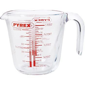 Pyrex P586 Pyrex Measuring Jug, 1 pint
