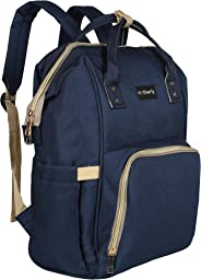 Motherly Diaper Bags for Mom Travel Basic Edition (Navy Blue)
