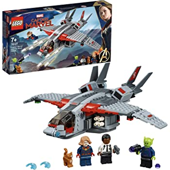 LEGO 76127 Captain Marvel and The Skrull Attack Building Kit