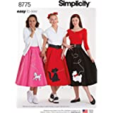 Simplicity Easy-To-Sew Misses' 1950S Poodle Skirt-6-8-10-12