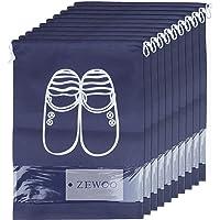 ZeWoo Lot de 10 Travel Sacs à Chaussures de Voyage, Sacs de Voyage Respirants Sacs Organisateurs, Drawstring Portable…