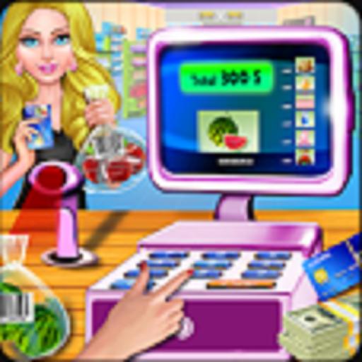 Supermarket registratore di cassa cassiere gioco, divertente centro commerciale gioco di gestione del tempo gratuito