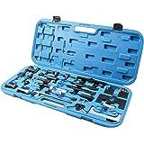 LLCTOOLS Motorlåsningsverktyg klämma justerbart drivbälte verktygssats för V-A-G A-u-d-i/S-e-a-t/S-k-o-d-a/V-W
