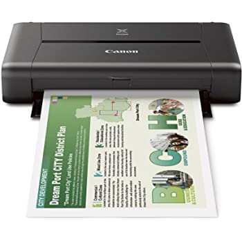 Canon IP110 Colour WiFi Single-Function Inkjet Printer
