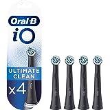 Oral-B iO Ultimate Clean Brossettes De Rechange x4, Recharge Originale Pour Brosse À Dents Électrique