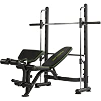 Tunturi SM60 Smith Machine Mixte Adulte, Noir, 1