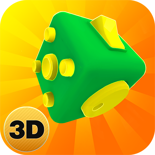 Fidget Cube App: Relaxing Sounds Swiping Game | Tap Dash Rest Areas Spinner Simulator Spinner Knob