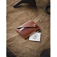 Portafoglio minimalista in pelle/portacarte | Classic Brown portapacchi Crazy Horse in pelle, vintage, portamonete di…