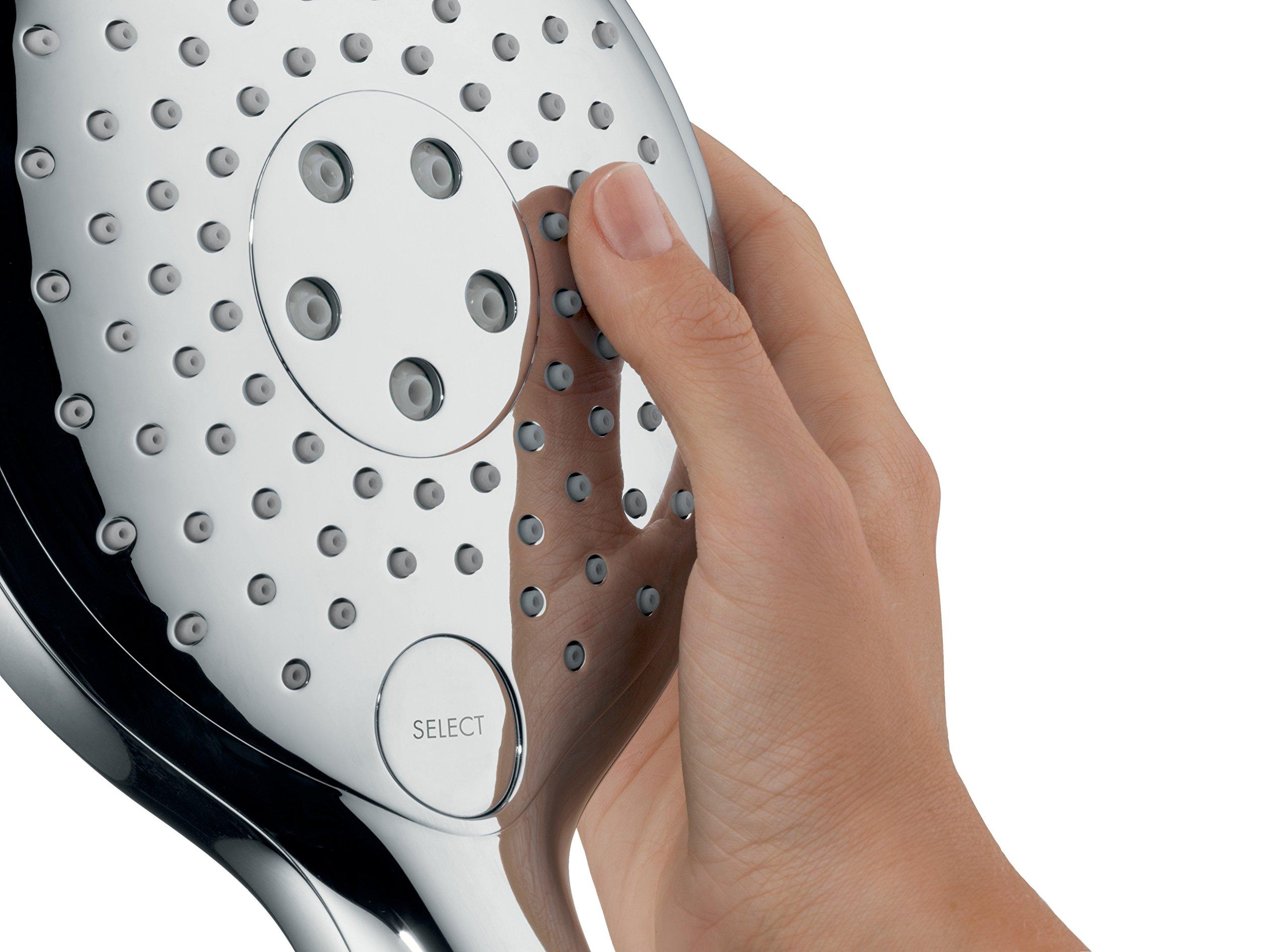 blanco//cromo Hansgrohe 26626400 Raindance Select S 150 set de ducha 3 tipos de chorro