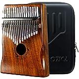 Moozica 17 touches Kalimba, Professionnel De Haute Qualité Doigt Pouce Piano Instrument de Musique Cadeau (Koa Tone Bois…