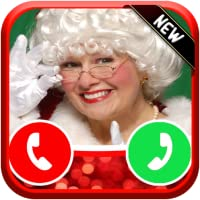 Incoming Live Voice Call From Mrs Santa Claus - Free Fake Phone Calls ID PRO 2018 - PRANK FOR KIDS