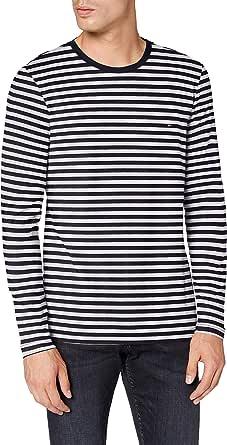 Tommy Hilfiger - Mens Long Sleeved T-Shirts - Men's T-Shirts - Tommy Hilfiger Mens T Shirts - Stretch Slim Fit Long Sleeve T Shirts Men