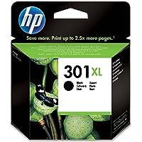HP (CH563EE) 301XL Cartouche d'Encre Noire Grande Capacité Authentique
