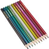 Faber-Castell 201583métallique de couleur crayon (lot de 10)