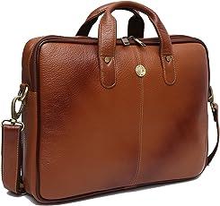 Hammonds Flycatcher Genuine Leather 13 inch Messenger Bag