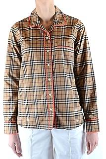 dd7de34579b BURBERRY Femme Mcbi35833 Blanc Coton Polo  Amazon.fr  Vêtements et ...