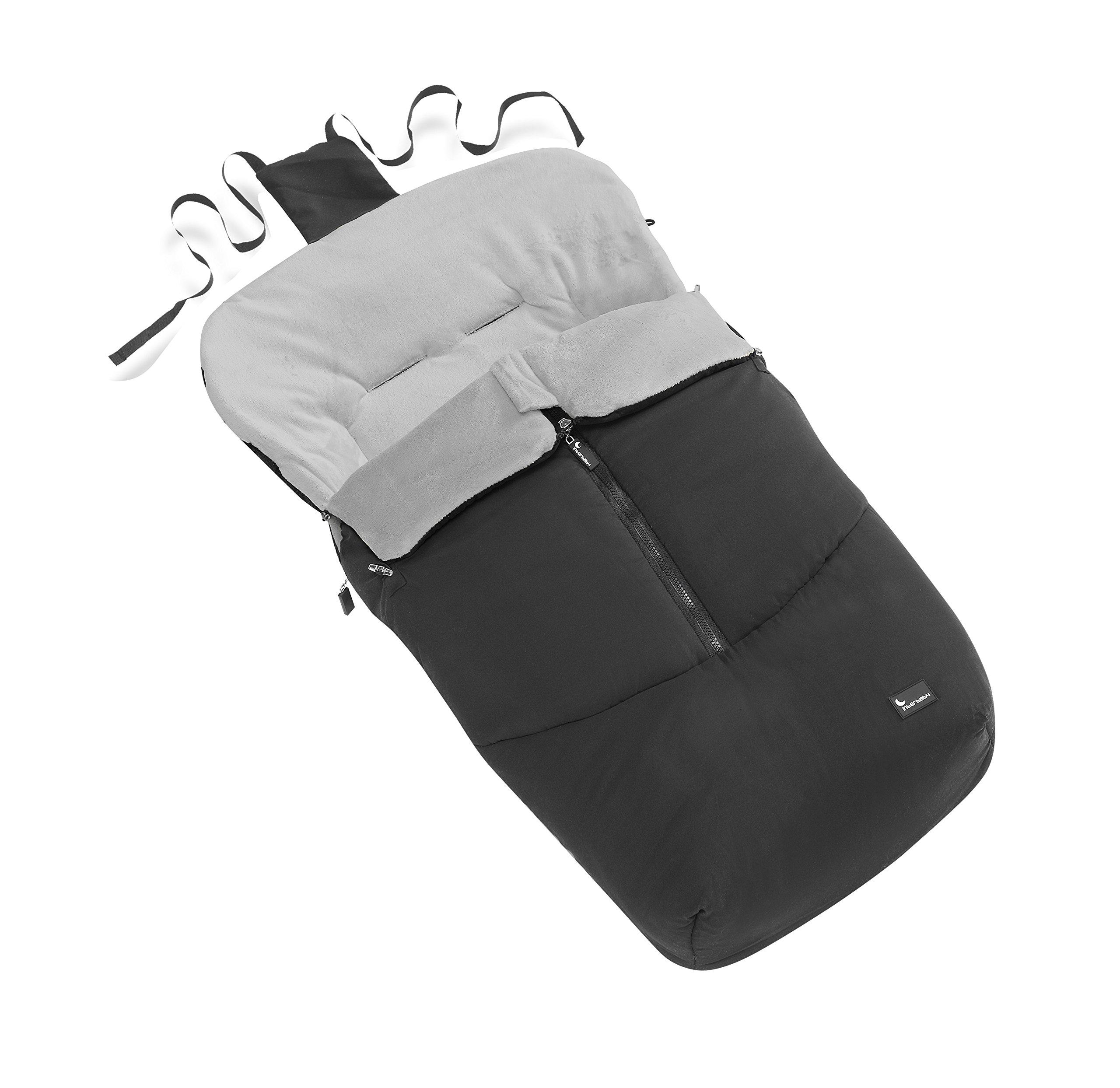 Interbaby, motivo Passeggino con sacco di RRP � 119, colore: nero