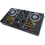 Numark Party Mix - 2 Kanal Plug und Play DJ Controller für Serato DJ Lite mit eingebautem Audio Interface und Kopfhörer…