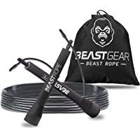 Beast Rope by Beast Gear – Speed Skipping Rope for Fitness, Conditioning & Fat Loss. Ideal for Crossfit, Boxing, MMA…